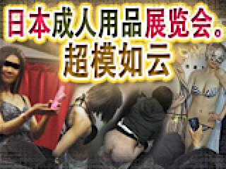 セックスアダルト動画|日本成人用品展览会。超模如云|オマンコ丸見え