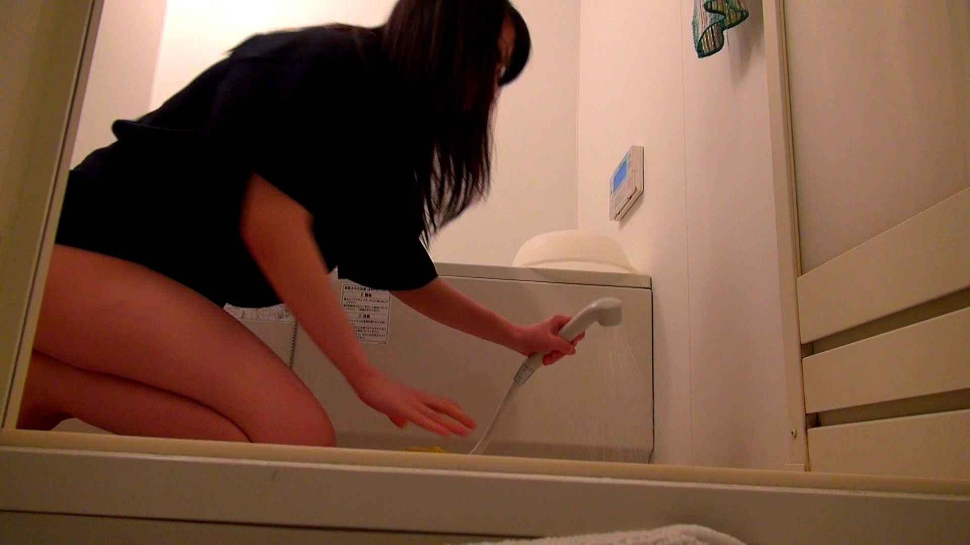 下半身裸で風呂の掃除をしてもらいました。 オマンコ全開 | 盗撮  93PIX 37