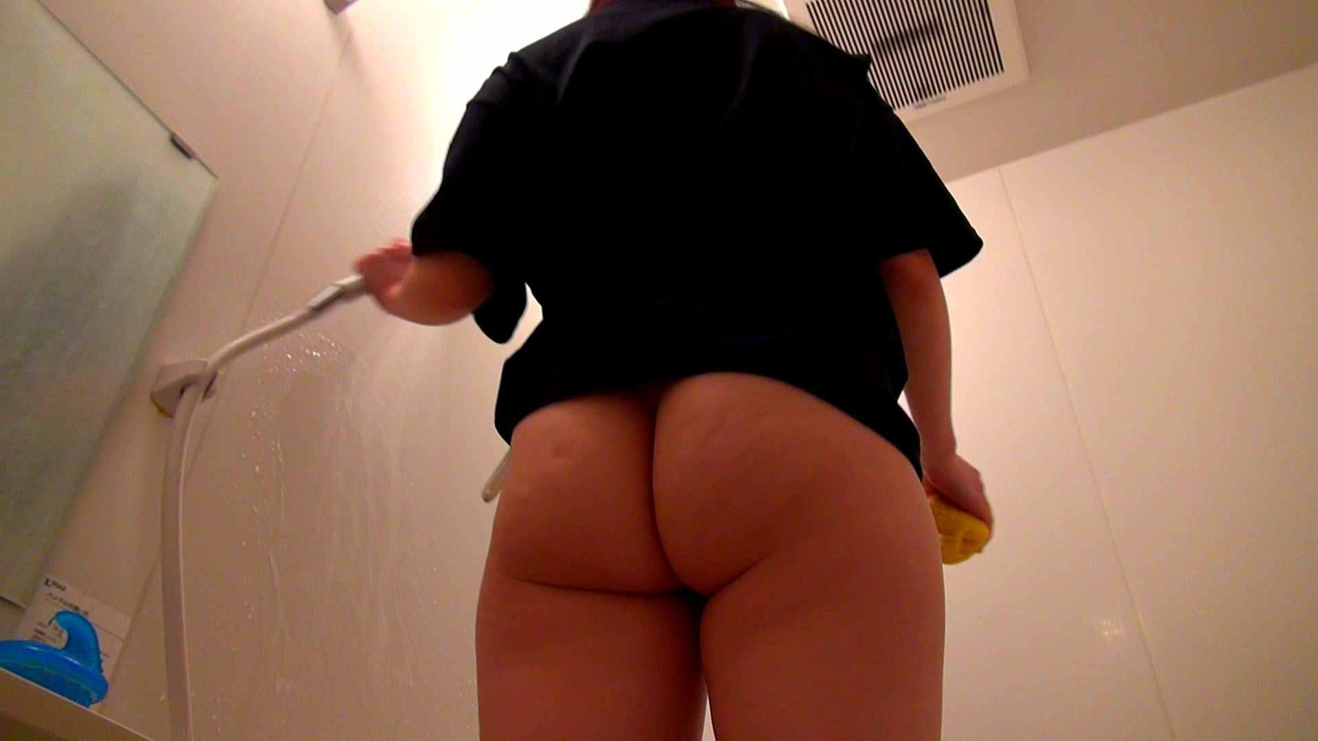 下半身裸で風呂の掃除をしてもらいました。 覗き SEX無修正画像 93PIX 83
