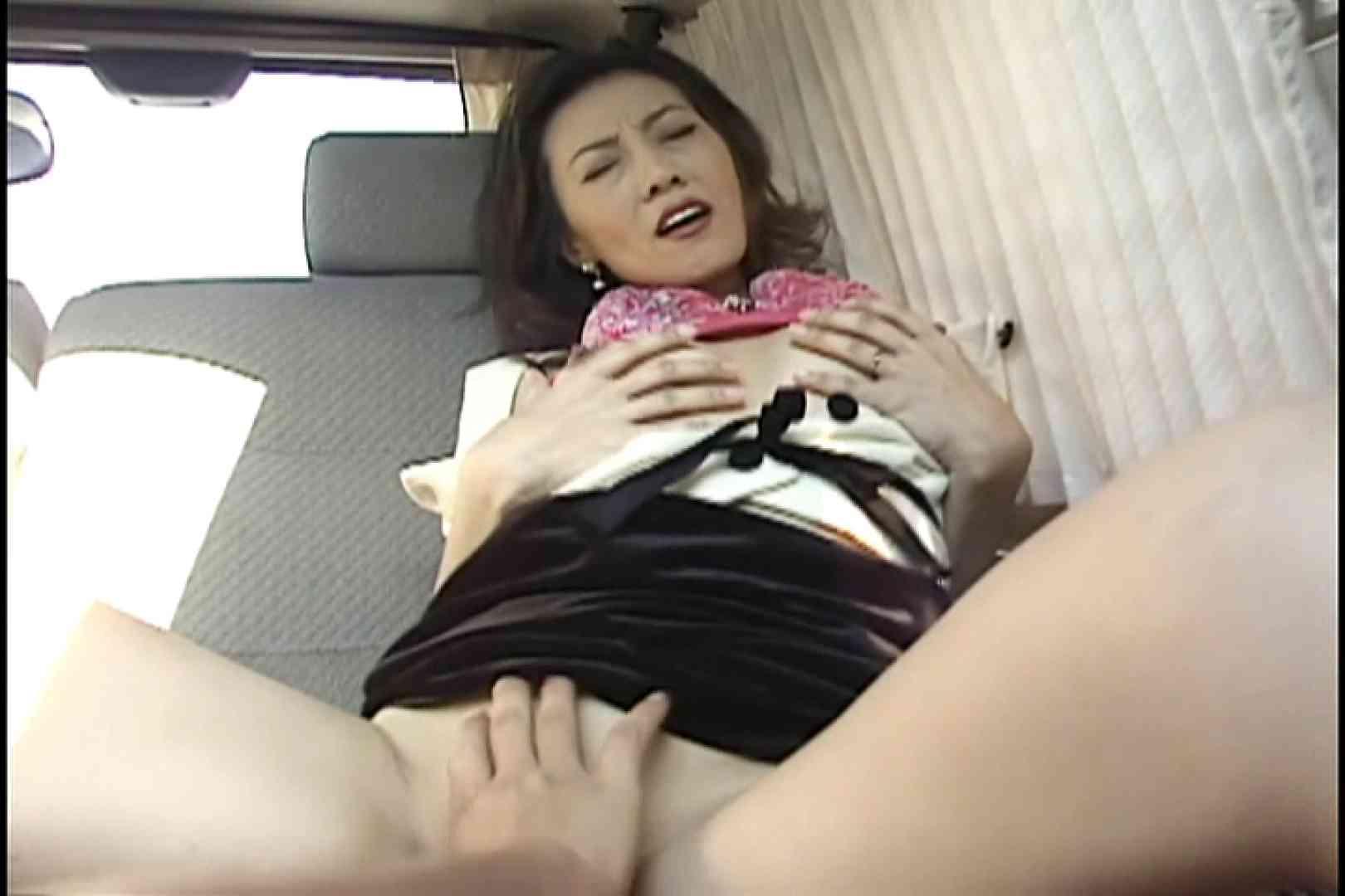 美巨乳Eカップの三十路美人妻と淫乱SEX~島田琴江~ 手マン   車でエッチ  58PIX 45