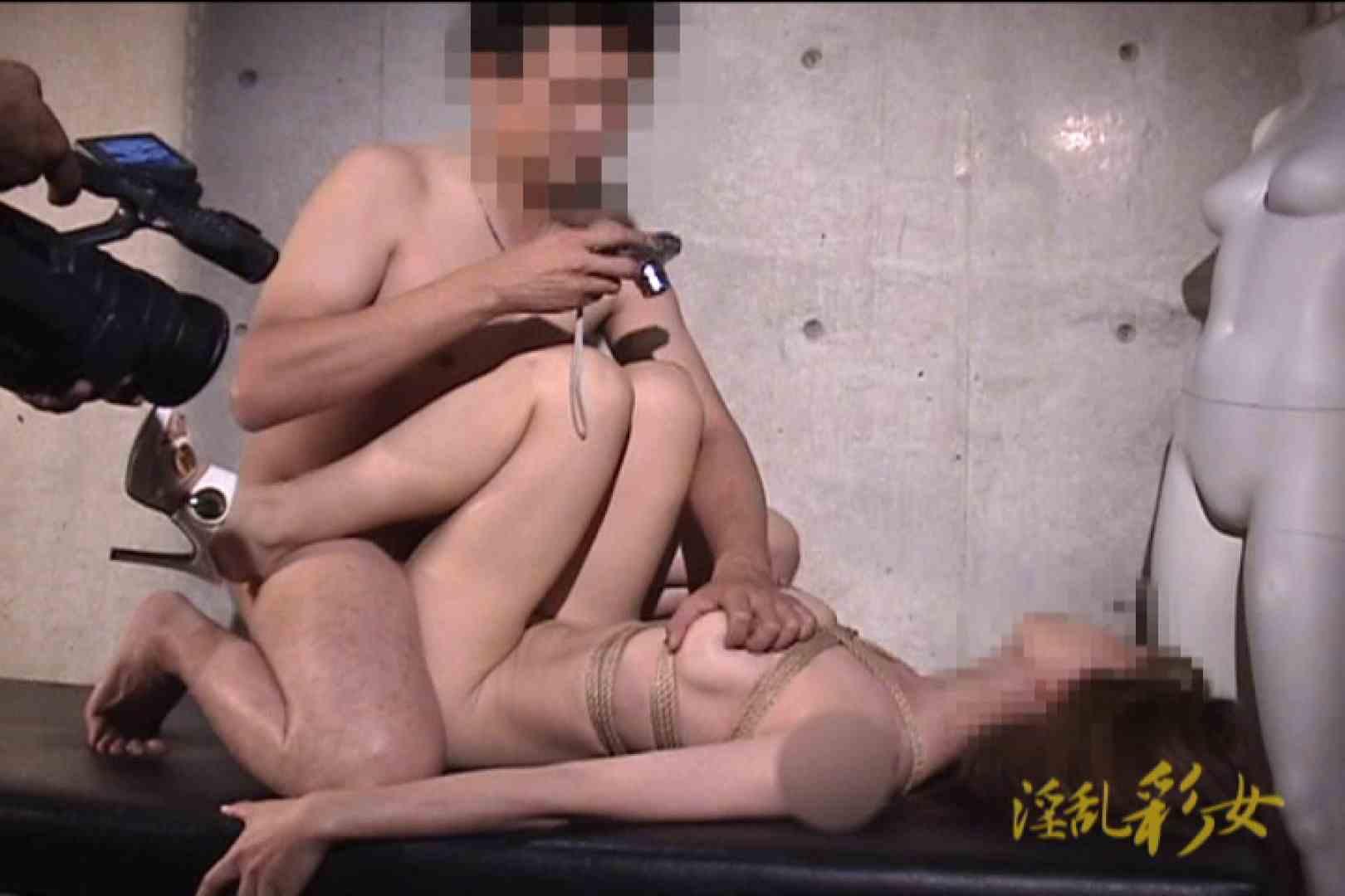 淫乱彩女 麻優里 スタジオで撮影 緊縛 オマンコ動画キャプチャ 102PIX 74