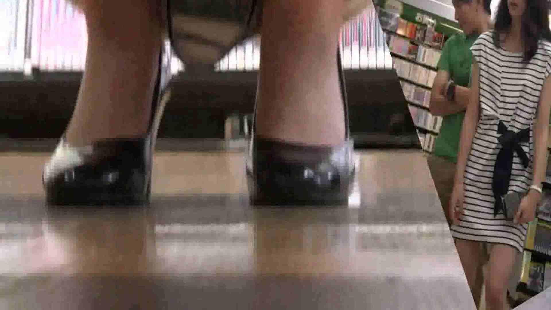 真剣に買い物中のgal達を上から下から狙います。vol.01 OLヌード天国 | JKヌード天国  77PIX 63