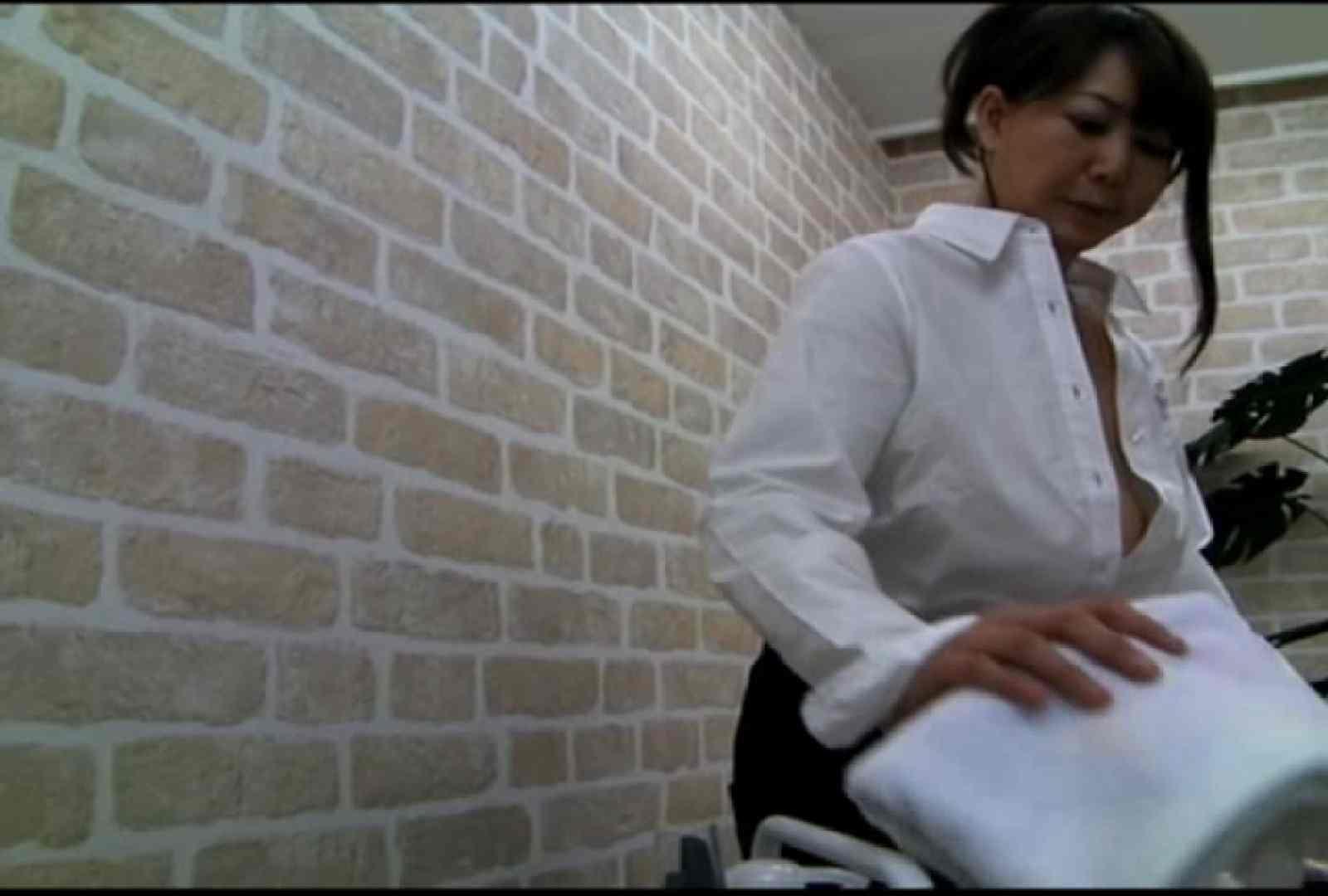 いきつけの美容院はノーブラ営業中!Vol.2 乳首   OLヌード天国  54PIX 45
